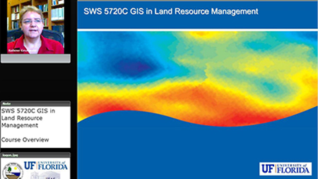 SWS5721C, GIS in Land Resource Management